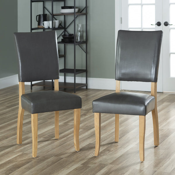 Upholstered Parsons Dining Chair, Set of 2