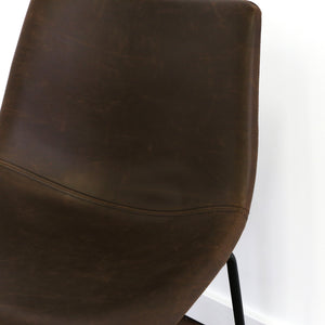 Faux Leather Barstool 40""