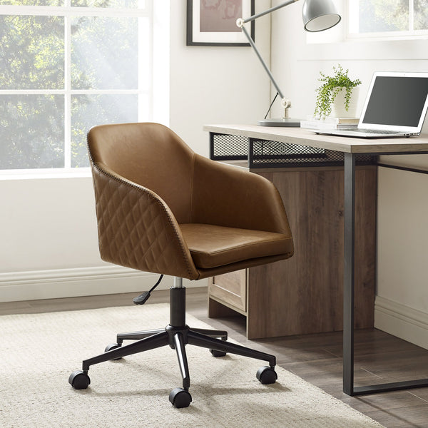 Tyler Quilted Swivel Chair