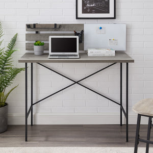Meyer Wood and Metal Desk