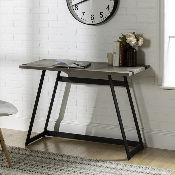 Metal Wrap Desk