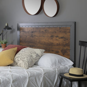 Rustic Home Queen Headboard