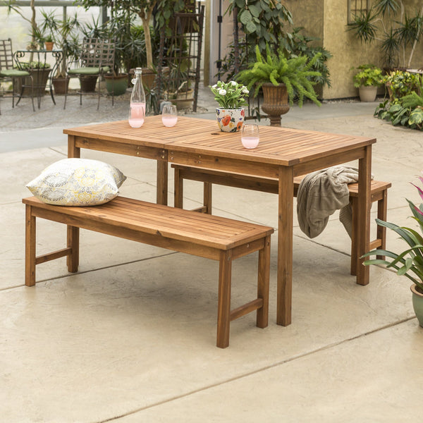 Simple Midland 3 Piece Dining Set