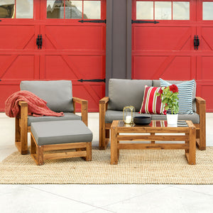 Hudson 4 pc Chat Set