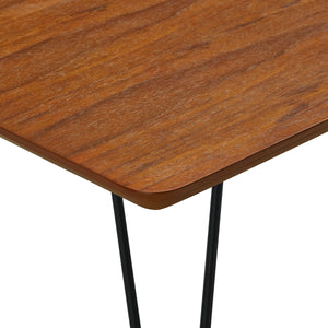 Square Hairpin Dining Table