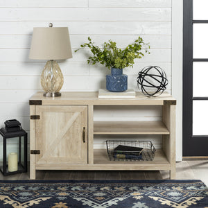 Barn Door TV Console