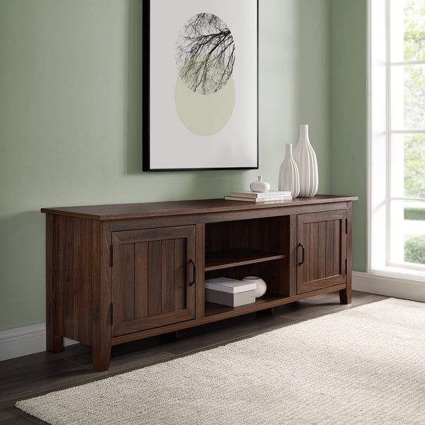 Simple Groove Door Console