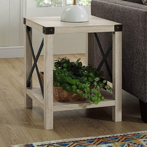 Barn Door Side Table