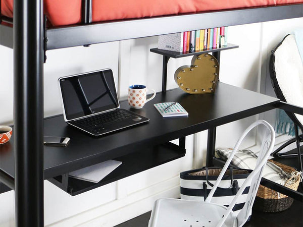 Sunset Full over Workstation Bunk Bed