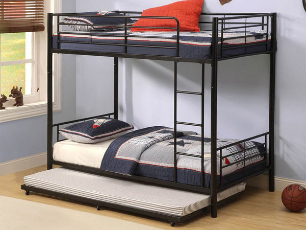 Roll Out Metal Trundle Bed