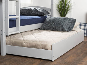 Solid Wood Twin Trundle Bed