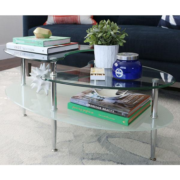 Mariner Dual Oval Coffee Table