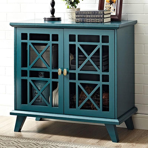 Gwen Fretwork Accent Table