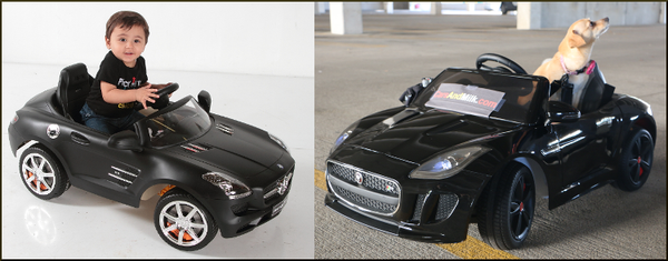 F-Type Battery Powered Car for Kids