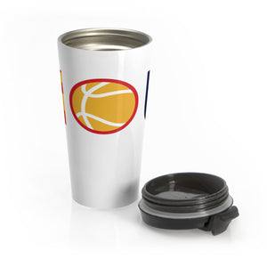 Houston Sports - Baseball Basketball Football Stainless Steel Travel Mug