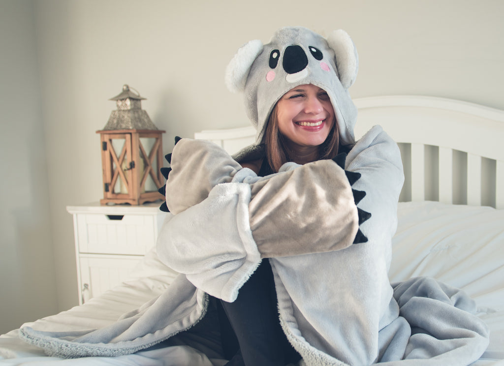 Cuddle the Koala Wearable Hooded Blanket - FREE SHIPPING