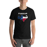 Texas Flexas - Short-Sleeve Unisex T-Shirt
