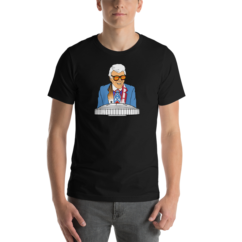 Marvin Zindler OILERS Version Houston Sports Short-Sleeve Unisex T-Shirt