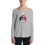 Marvin Zindler TEXANS Version Houston Sports - Ladies' Long Sleeve Tee