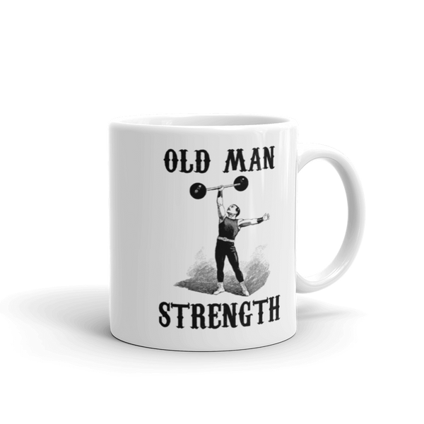 Old Man Strength Coffee Mug