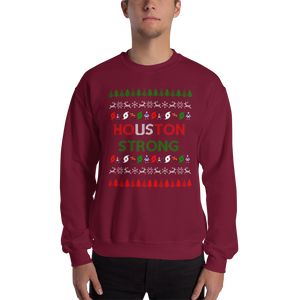 Houston Strong Ugly Christmas Sweater - Unisex Sweatshirt