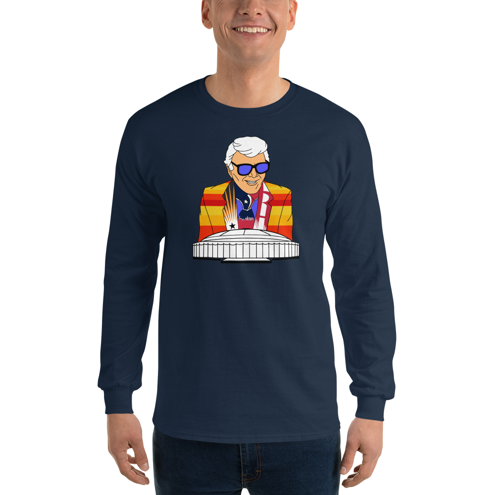 Marvin Zindler Houston Sports - Mens' Long Sleeve T-Shirt