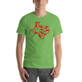 Texas Crawfish Short-Sleeve Unisex T-Shirt