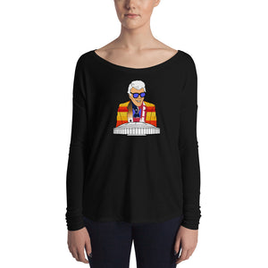 Marvin Zindler Houston Sports - Ladies' Long Sleeve Tee