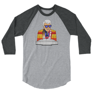 Marvin Zindler Houston Sports - 3/4 sleeve raglan shirt