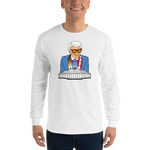 Marvin Zindler OILERS Version Houston Sports - Long Sleeve T-Shirt