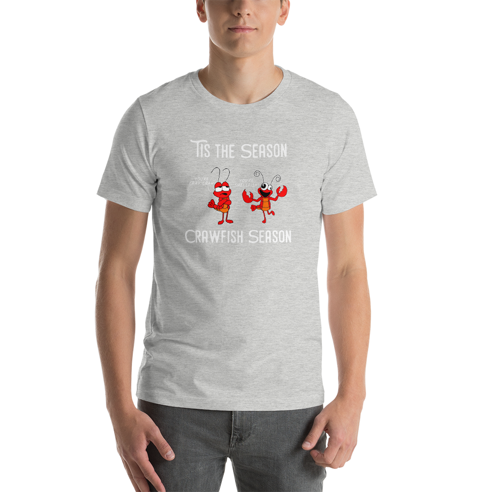 Crawfish Boil Mudbugs Season - Short-Sleeve Unisex T-Shirt