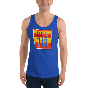 Houston 713 Astros Colors - Unisex  Tank Top