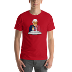 Marvin Zindler TEXANS Version Houston Sports Short-Sleeve Unisex T-Shirt