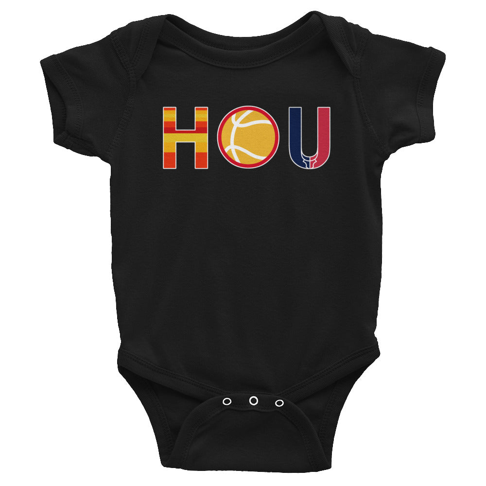 Houston Sports - Baseball Basketball Football - Infant Bodysuit