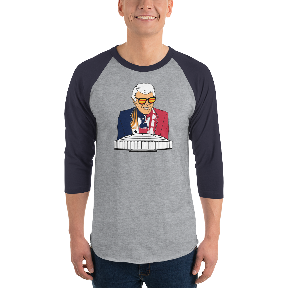 Marvin Zindler TEXANS Version Houston Sports - 3/4 sleeve raglan shirt