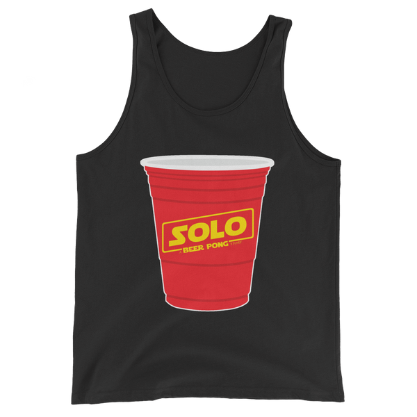 Solo Beer Pong Cup Tank Top