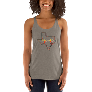 Astros Colors Texas is Home - Women's Racerback Tank