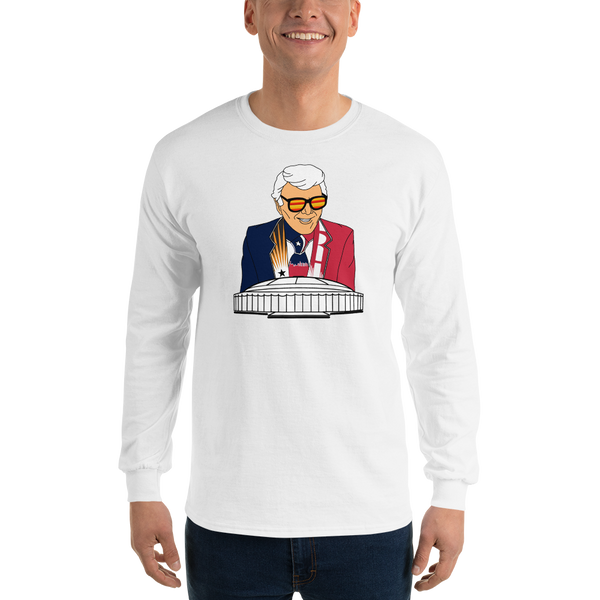 Marvin Zindler TEXANS Version Houston Sports - Long Sleeve T-Shirt