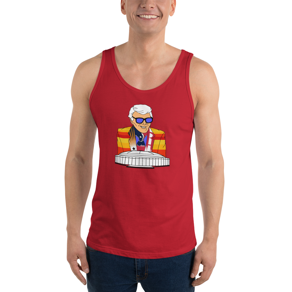 Marvin Zindler Houston Sports - Unisex  Tank Top