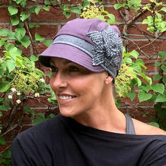 Stylish Hat for Hair less