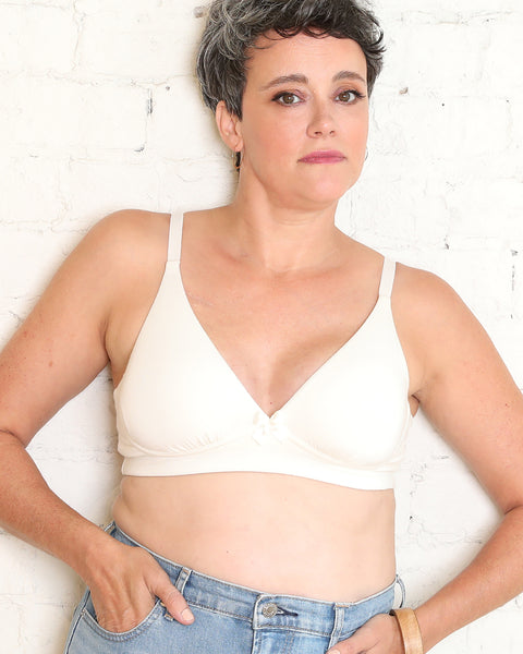 AnaOno pocketed bra for breast cancer sexy comfortable radiation available in Canada