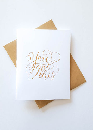 Inspirational Greeting Card for Cancer Treatment