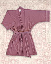 Miena Robe With Drain Belt