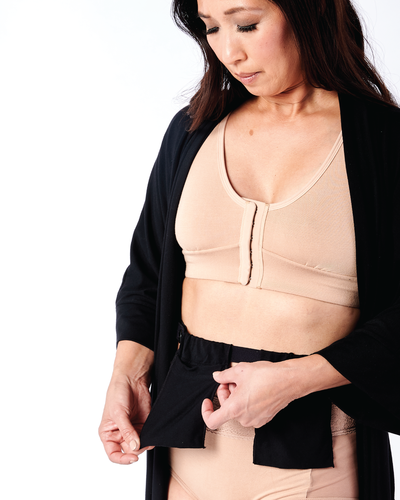 Drain Belt Recovery wear robe for cancer surgery AnaOno