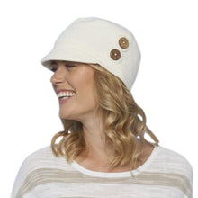 Button Peak Comfortable Hat for Hair Loss from Parkhurst