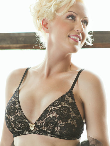 Beautiful, Sexy, Comfortable, Lace Breast Cancer Reconstruction Bra