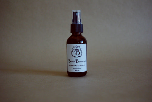 Botanical Hydrosol (Facial Mist) - Naturally Scented