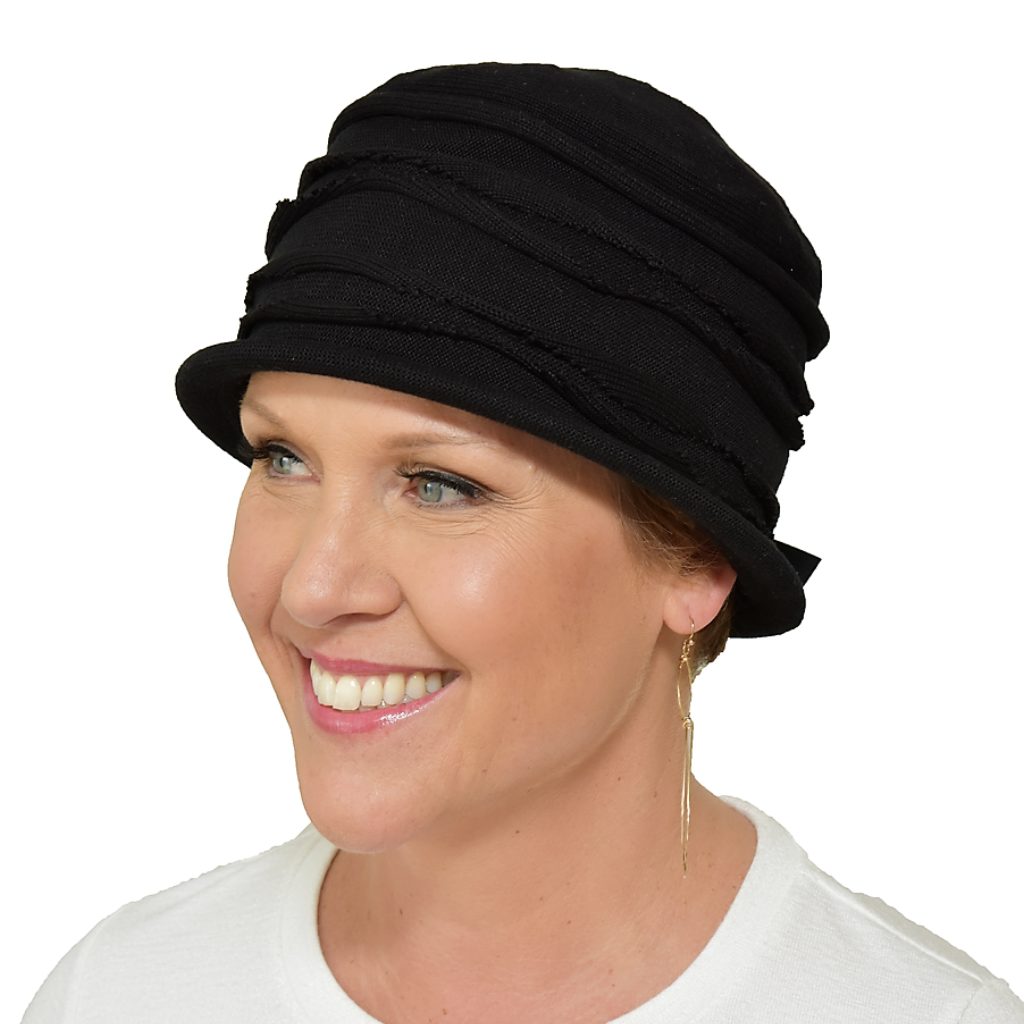 Comfortable Stylish Cloche Hat for Cancer Patients