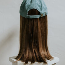 Denim Cap with Partial Wig - Gorgeous You, Dear Martha