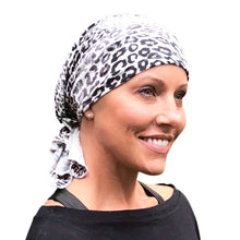 Stylish Soft Leopard Print Head Kerchiefs for Hair Loss from Parkhurst